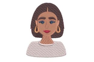 Hispanic Woman Mexico Embroidery Design By Embroidery Designs