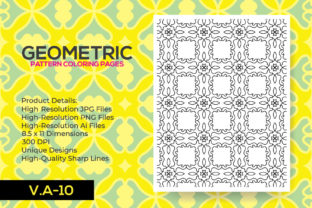 Print on Demand: Kdp Interior Coloring Pattern Pages Graphic Coloring Pages & Books Adults By nur_vector