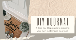 How to Create a Customised Doormat