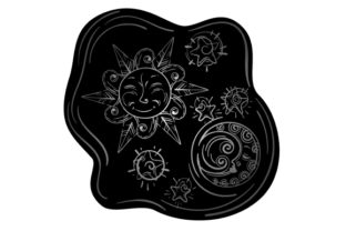 Sun, Moon and Stars Bedroom Craft Cut File By Creative Fabrica Crafts