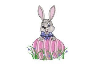 Print on Demand: Easter Bunny Easter Embroidery Design By ArtEMByNatali