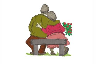 Grandparents Grandparents Embroidery Design By NinoEmbroidery