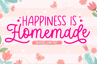 Print on Demand: Happiness is Homemade Script & Handwritten Font By Holydie Studio