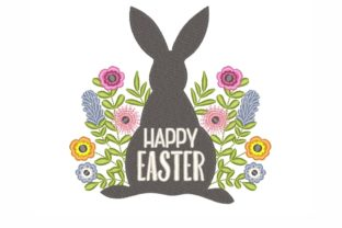 Happy Easter Easter Embroidery Design By SonyaEmbroideryStore