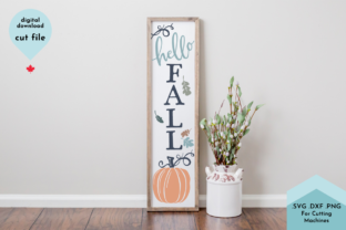Print on Demand: Hello Fall Hand Lettered Autumn Graphic Crafts By Lettershapes