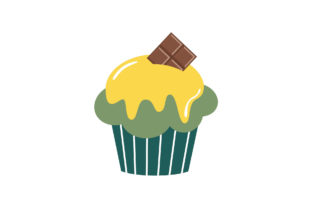 Sweet Cupcakes Flat Style Graphic Illustrations By zia studio 2