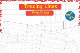 Tracing Lines Pratice Part 2 Graphic Teaching Materials By Kids Zone