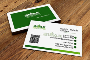 Print on Demand: Business Card Design Template Graphic Print Templates By Kids_Zone