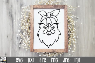 Print on Demand: Chicken with Bandana SVG File Graphic Crafts By oldmarketdesigns