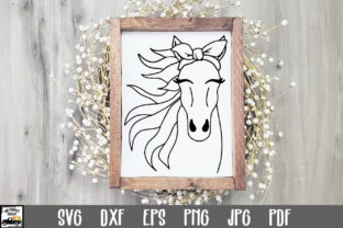 Print on Demand: Horse with Bandana SVG File Graphic Crafts By oldmarketdesigns