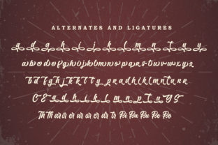 Print on Demand: Hundred Miracles Display Font By Subectype 9