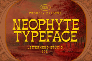 Print on Demand: Neophyte Display Font By letterhend