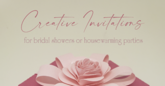 Creative Invitations for Bridal Showers