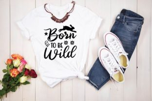 Born to Be Wild Graphic Print Templates By designstore
