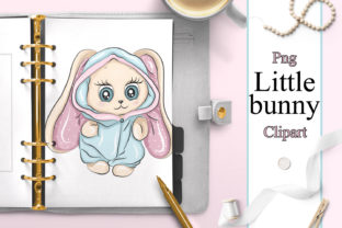 Print on Demand: Bunny Easter Cute Baby Clipart Graphic Illustrations By LerVik