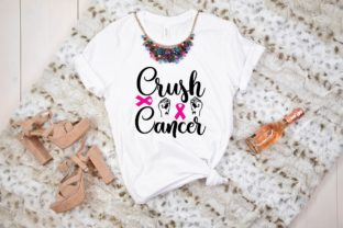 Crush Cancer Graphic Print Templates By designstore