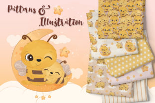 Print on Demand: Cute Seamless Pattern and Illustration 2 Graphic Illustrations By DrawStudio1988