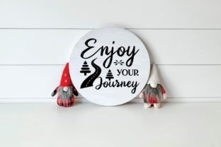 Enjoy Your Journey Graphic Print Templates By designstore