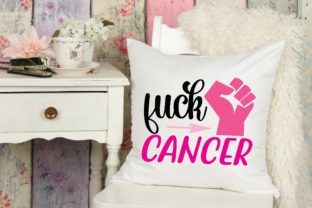 Fuck Cancer Graphic Print Templates By designstore