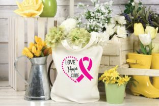 Love Hope Cure Graphic Print Templates By designstore