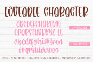 Print on Demand: Loveable Script & Handwritten Font By BitongType 15