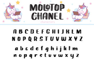 Print on Demand: Molotop Chanel Display Font By Alit Design 3