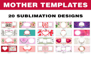 Mother Sublimation Mug Templates Graphic Print Templates By Papa Gray