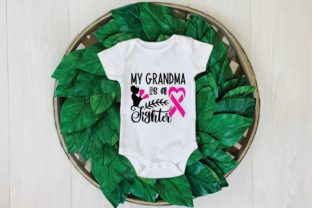 My Grandma is a Fighter Graphic Print Templates By designstore
