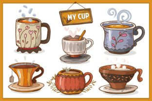 My Cup Design Collection Graphic Illustrations By onoborgol