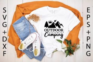 Outdoor Camping Graphic Print Templates By designstore