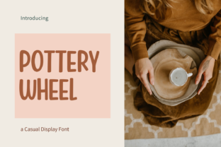 Print on Demand: Pottery Wheel Display Font By nhfonts