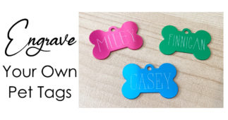 Engrave Your Own Pet Tags