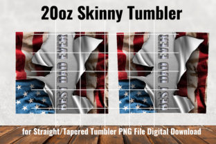 Best Dad Ever, 20 Oz Skinny Tumbler Graphic Patterns By Army Custom