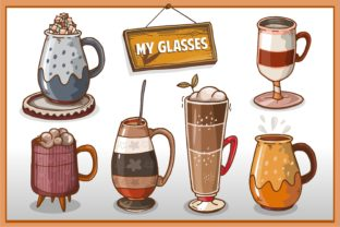 Collection of Beautiful Glass Designs Graphic Illustrations By onoborgol