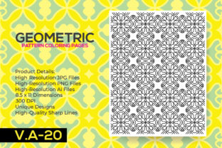 Print on Demand: Pattern Pages - Coloring Book Pages Graphic Coloring Pages & Books Adults By nur_vector