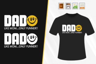 Print on Demand: Father's Day Funny T-shirt. Graphic Print Templates By Trendy Graphics