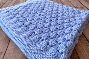 Lullaby Baby Blanket Knit Pattern Graphic Knitting Patterns By Knit and Crochet Ever After