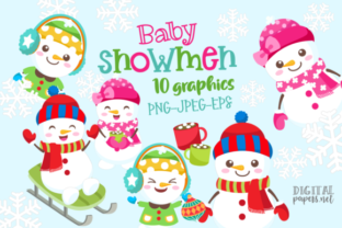Print on Demand: The Cute Christmas Collection Graphic Illustrations By DigitalPapers 2