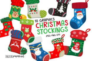 Print on Demand: The Cute Christmas Collection Graphic Illustrations By DigitalPapers 7