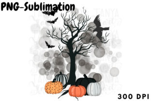 Whimsical Halloween Sublimation Graphic Crafts By Tanya Kart