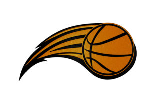 Print on Demand: Basketball Ball Hobbies & Sports Embroidery Design By embroidery dp