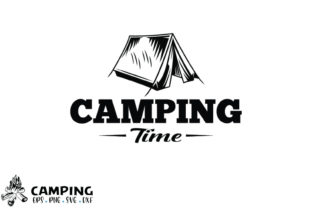 Print on Demand: Camping SVG-7 Graphic Crafts By hossenroni