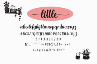 Print on Demand: Enjoy the Little Things Script & Handwritten Font By Fillo Graphic 11