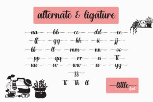 Print on Demand: Enjoy the Little Things Script & Handwritten Font By Fillo Graphic 12