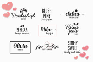 Print on Demand: Enjoy the Little Things Script & Handwritten Font By Fillo Graphic 2