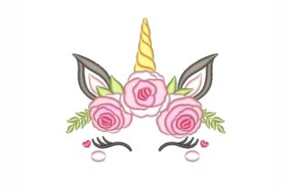 Floral Unicorn Babies & Kids Embroidery Design By NinoEmbroidery
