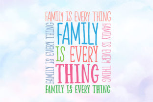 Print on Demand: Happy Rainbow Family Script & Handwritten Font By Nobu Collections 5