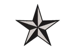 Nautical Star Beach & Nautical Embroidery Design By Embroidery Designs