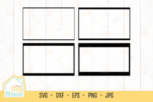 Photo Rectangle Frame Svg Graphic Crafts By VeczSvgHouse