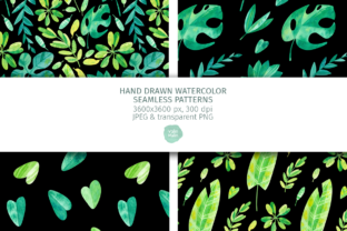 Print on Demand: Tropical Jungle Leaves, Seamless Pattern Graphic Patterns By ValinMalin